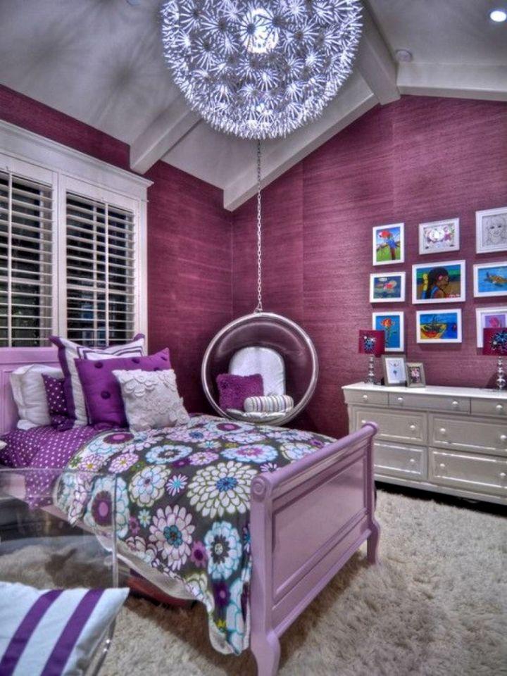 Swing in bedroom