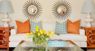 bright retro modern decor