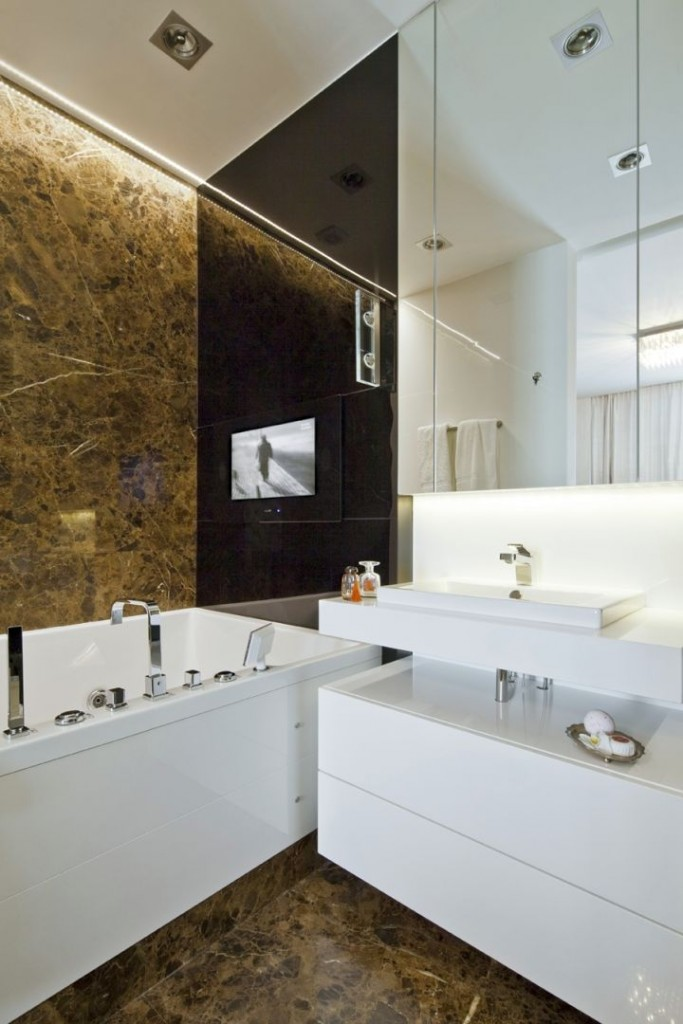 gallery for chocolate brown bathroom decorating ideas