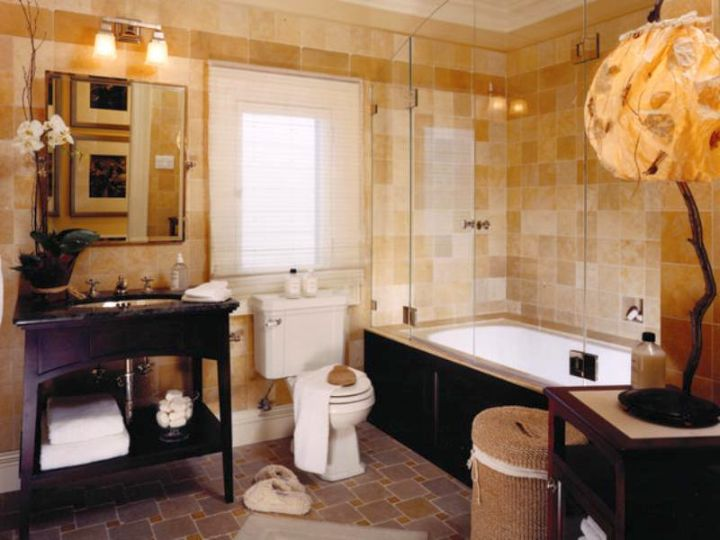 17 sweet chocolate brown bathroom decorating ideas