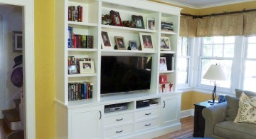 built in TV for small living rooms