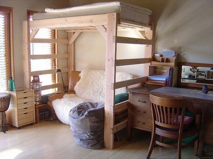 17 smart bunk bed designs for adults master bedroom for How to make a loft room