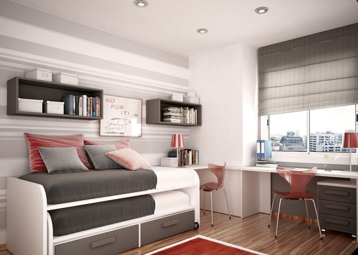 bunk bedroom ideas for small rooms