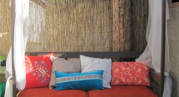 canopied outdoor how to make daybed