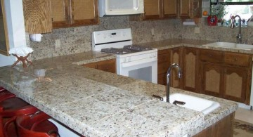 cheap countertop solution with concrete