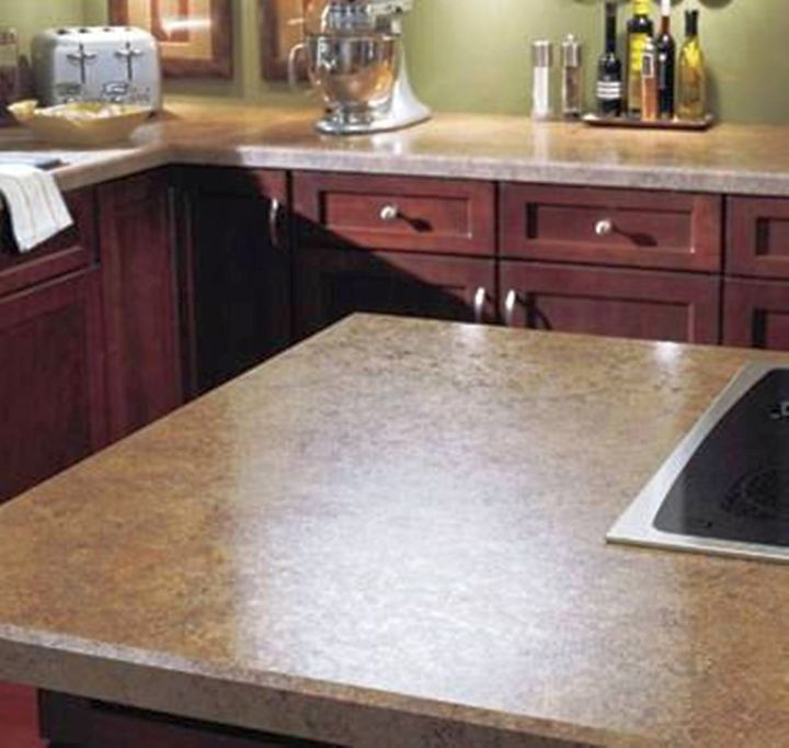 Cheap Countertops : cheap countertop solution with fake marble