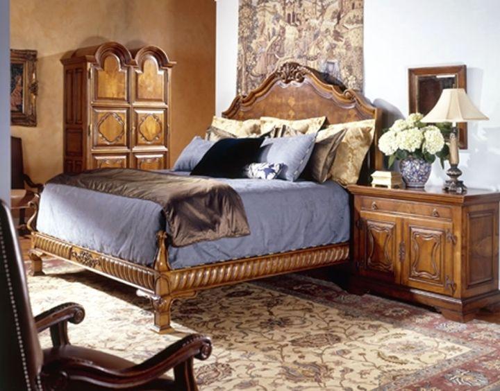 17 Elegant Tuscan Bedroom Furniture Design Ideas