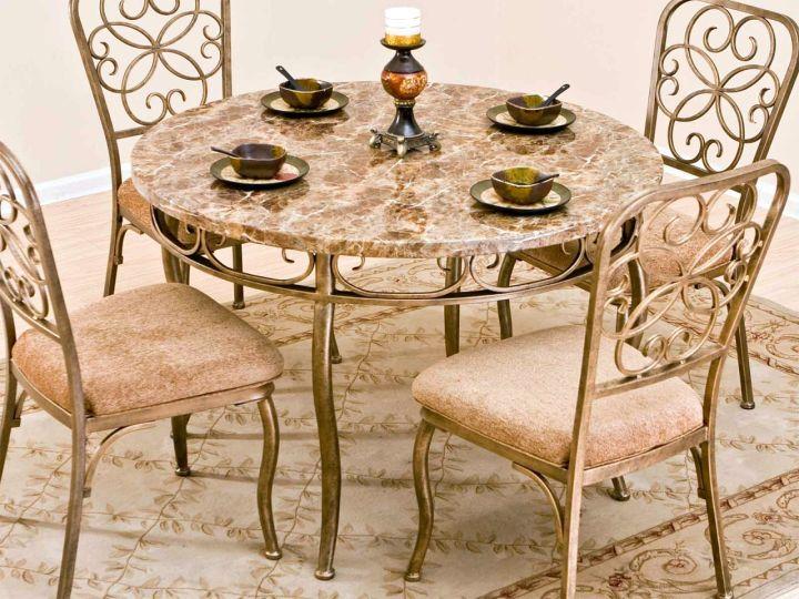 17 amazing granite dining room table designs