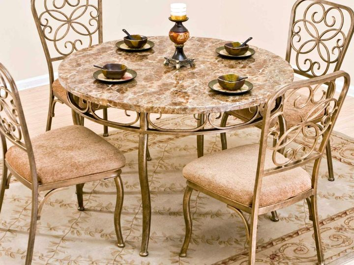 classy granite dining room table