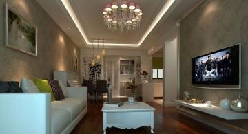 classy long living room