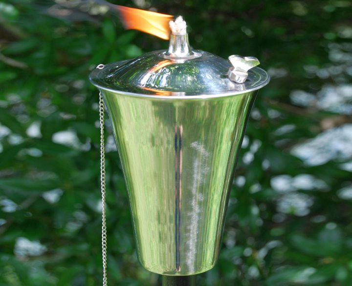 classy simple cool tiki torches
