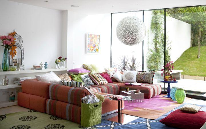 colorful room arrangements