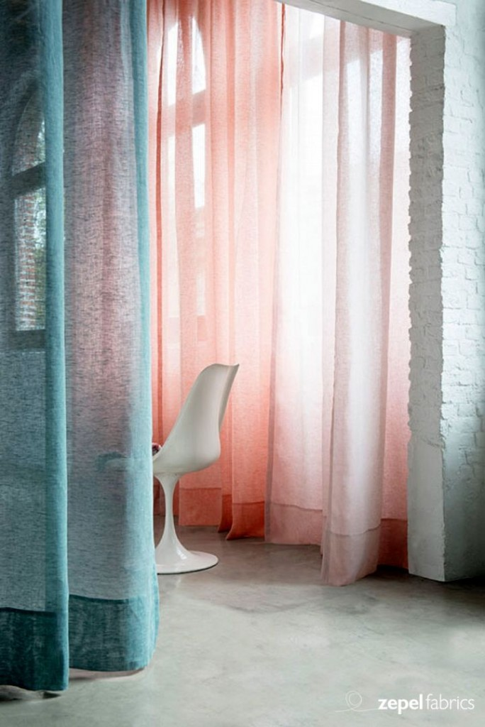 colorful sheer curtains privacy