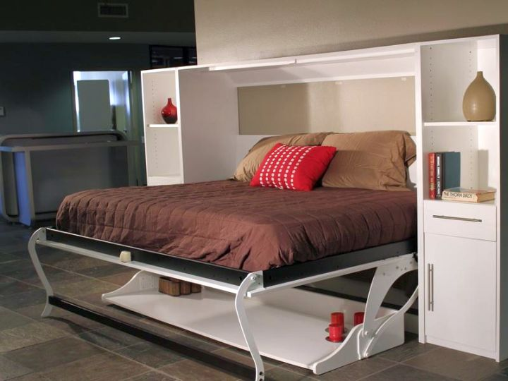 compact murphy bed unit