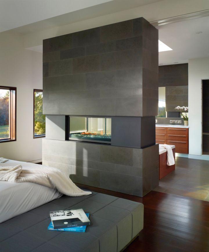 18 modern gas fireplace for master bedroom design ideas