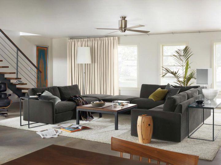 contemporary room arrangements