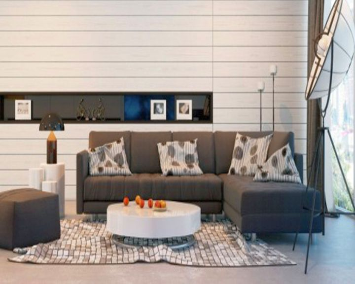 contemporary simple living room