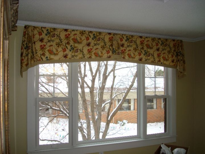 continental types of valances