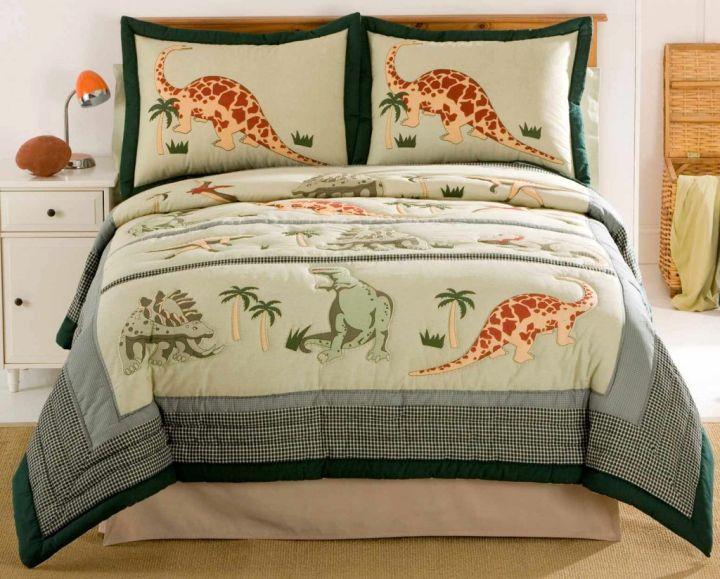 cozy Dinosaur themed bedroom