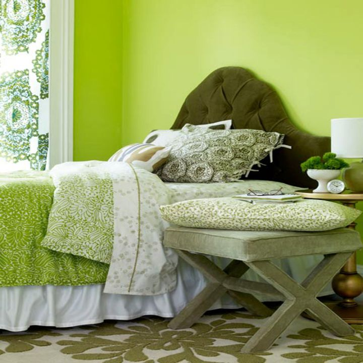 Orange Bedroom Accessories Wwe Bedroom Accessories Curtains For Bedroom 2015 Color Ideas For Bedroom: 17 Fresh And Bright Lime Green Bedroom Ideas