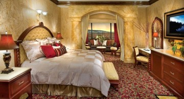cozy tuscan bedroom furniture