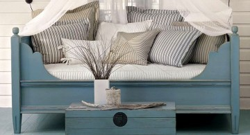 daybed images in blue