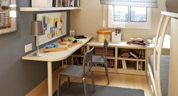 desk and bed combination for narrow room
