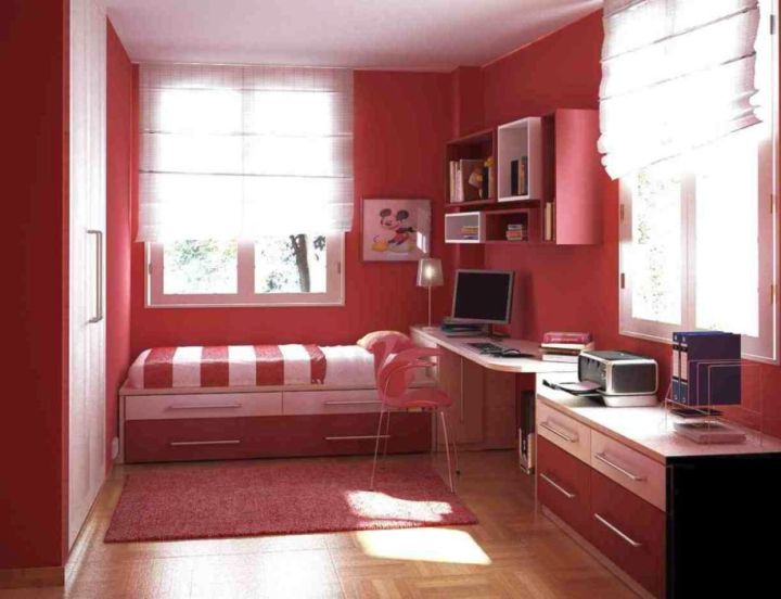 desk and bed combination for small rooms