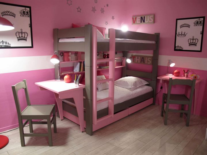 18 Desk And Bed Combination Ideas For Teenagers Rooms