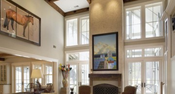 elegant exposed beams beautiful ceilings