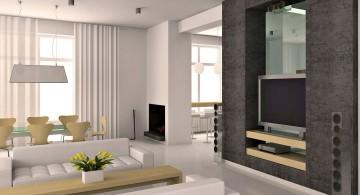 elegant modern minimalist living room