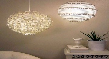 elegant pendant light diy