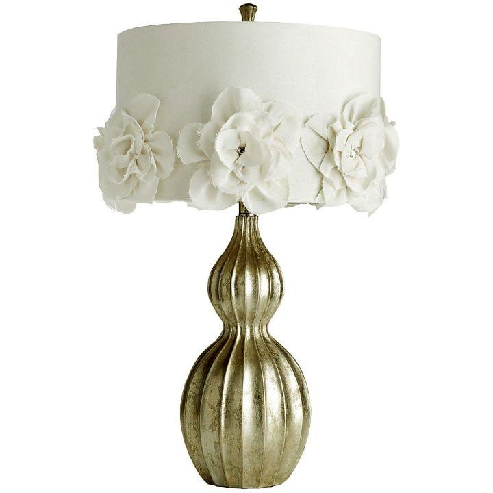 elegant with rosa chinesis pattern Rosette lamp shade