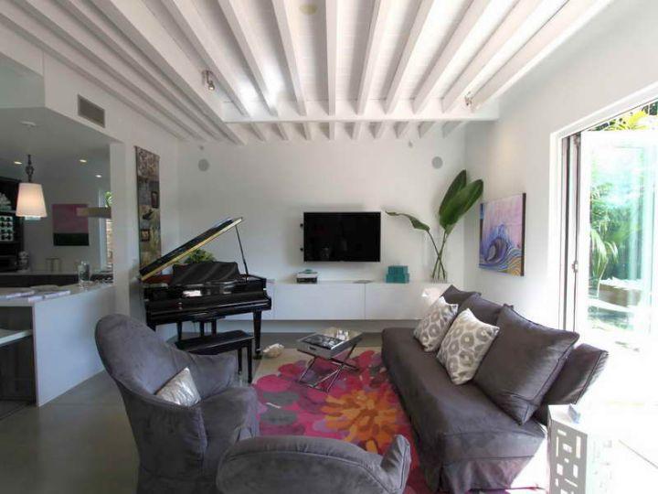 17 Exposed Beam Ceiling Designs In Rustic But Modern Interior
