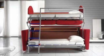 featured image of contemporary industrial bunk bed designs for adults
