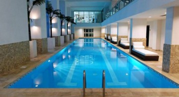 featured image of elegant indoor lap pool designs