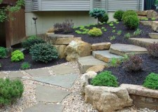 featured image of elevated simple rock garden ideas with black soil