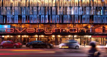 featured image of everyman theatre remodeled front view