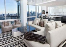 featured image of modern Manhattan Penthouse living room Turett Collaborative Architecture