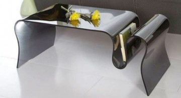 featured image of modern and unique acrylic cocktail table designs