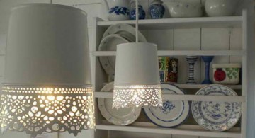 featured image of pendant lamp diy idea using old waste basket
