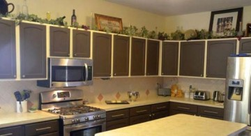 featured image of popular kitchen cabinet colors in nice espresso accent