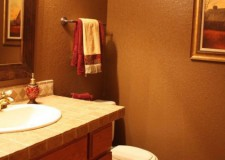featured image of simple and warm brown bathroom decorating ideas