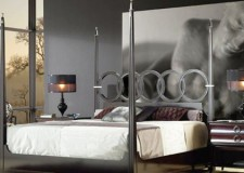 featured image of stunning modern four poster bed design with no canopy