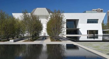 featured image of the entrance of aga khan museum