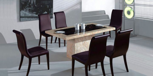 17 amazing granite dining room table designs
