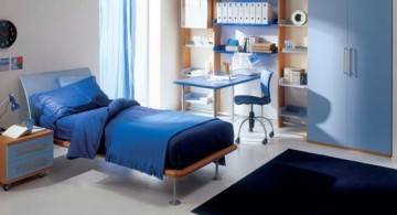 featured image of white and blue boys room color