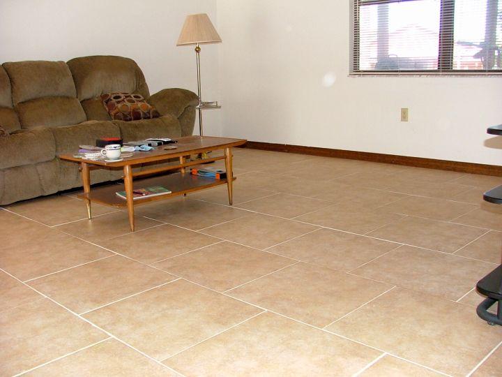 Inspiring Porcelain Tile Floors Living Room
