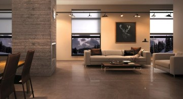 floor tiles for living room dark woods