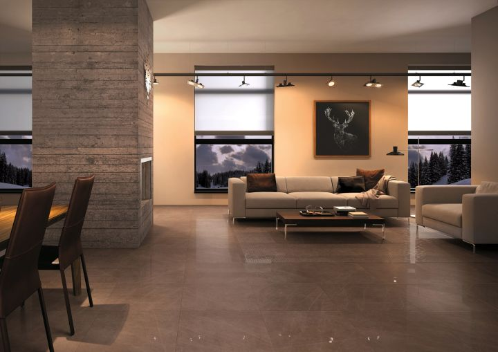floor tiles for living room dark woods